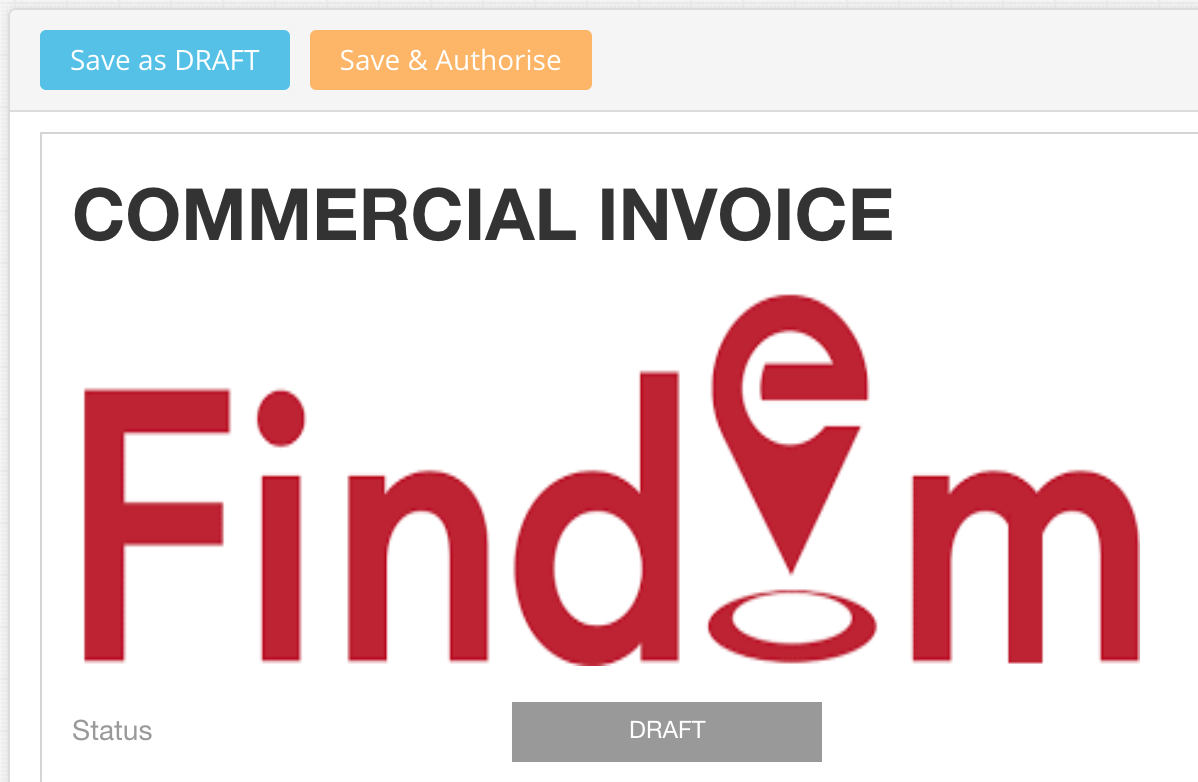 Saving & Authorising and Invoice in EdgeCTP