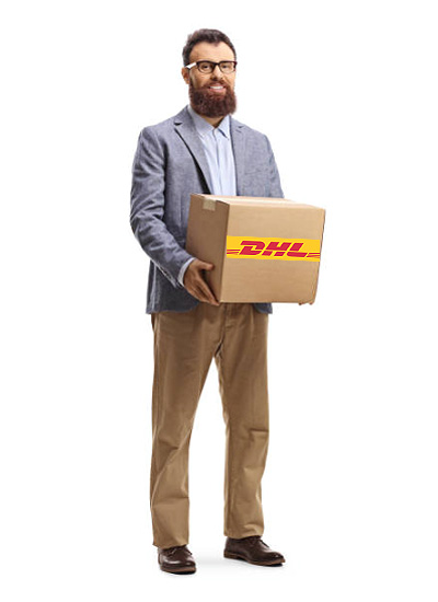 man-with-dhl-box