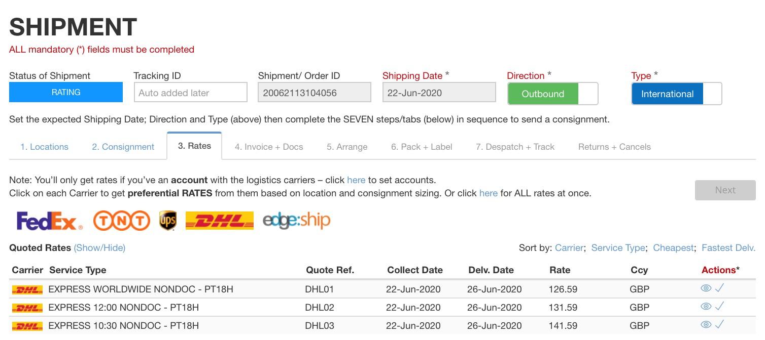 shipment-rates