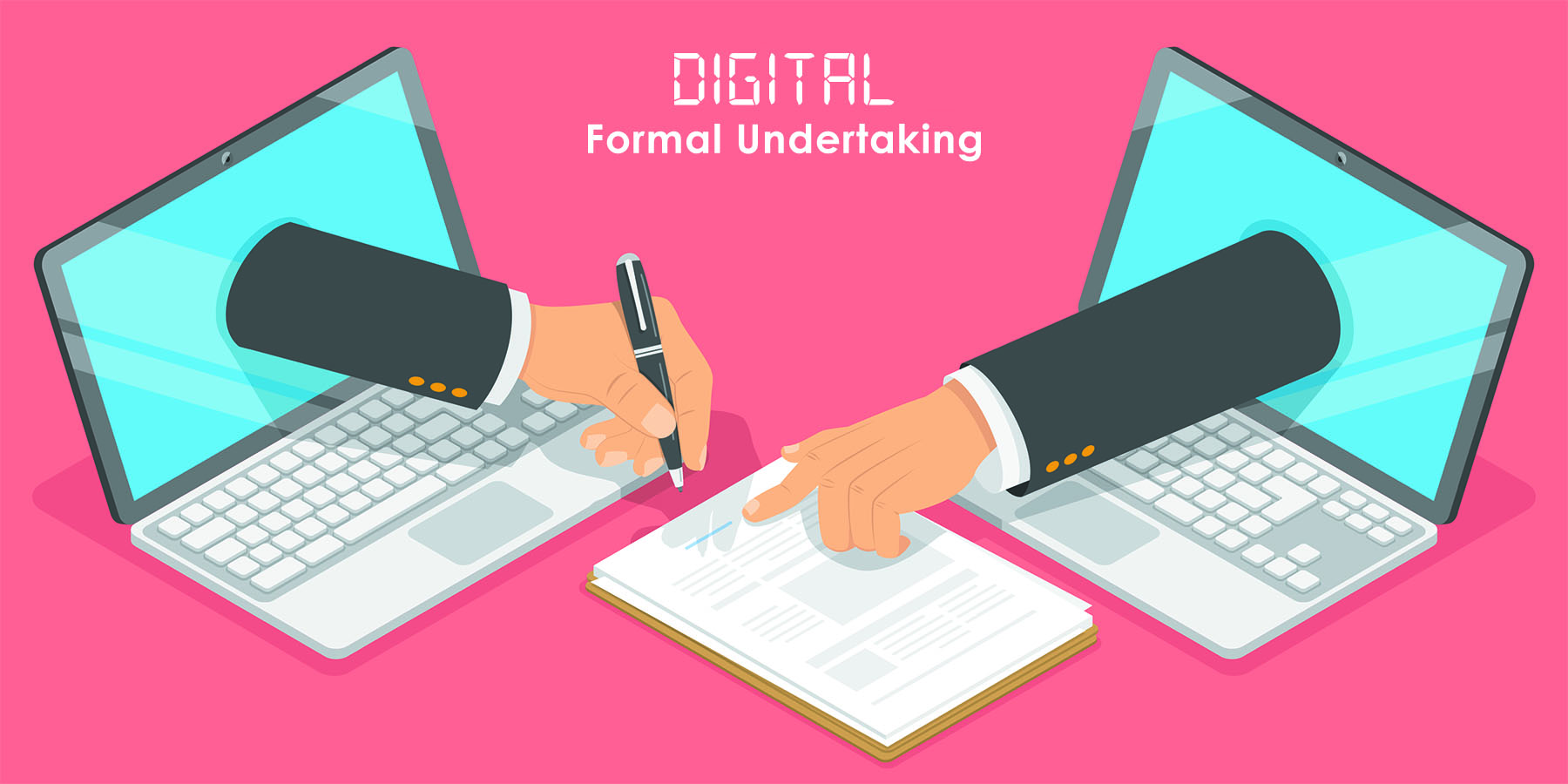 How to digitally create and send a Formal Undertaking to a Chamber