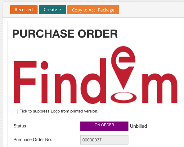 Purchase-Order-onorder-status