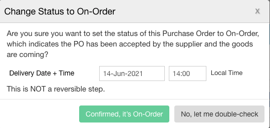 change-status-to-on-order-popup