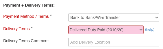 payment-delivery-term