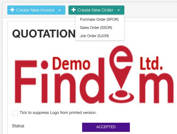 quoatation-document-create-order