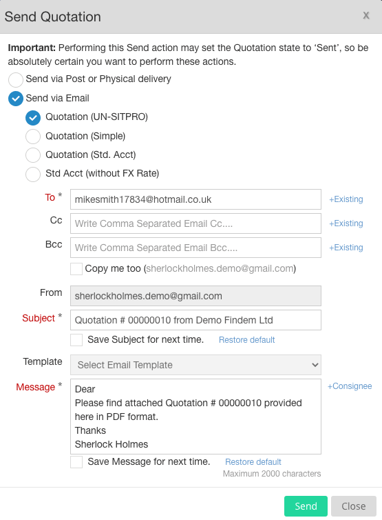 send-quotation-popup